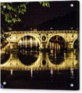 Ponte Sisto Acrylic Print
