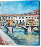 Pontevecchio Acrylic Print