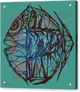 Pop Art - New Tropical Fish Poster Acrylic Print