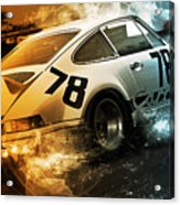 Porsche Carrera Rsr, 1973 - 20 Acrylic Print