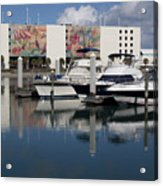Port Canaveral In Florida Usa Acrylic Print