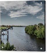 Port Charlotte Atlantus Waterway From Ohara Acrylic Print
