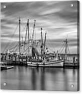 Port Royal Shrimp Boats Acrylic Print