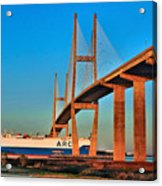 Port Traffic Acrylic Print
