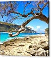 Porte D Enfer, Guadeloupe Acrylic Print