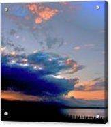 Portobello Clouds Acrylic Print