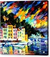 Portofino Harbor - Italy Acrylic Print