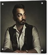 Portrait Of A Young Man Acrylic Print