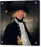 Portrait Of A Young Midshipman Sir Henry William Beechey Acrylic Print