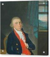 Portrait Of An American Sea Captain Acrylic Print