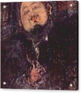 Portrait Of Diego Rivera 1914  Acrylic Print