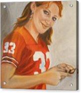 Portrait Of Ellie Acrylic Print