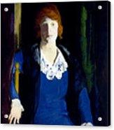 Portrait Of Florence Pierce Acrylic Print