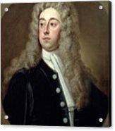 Portrait Of Francis 2nd Earl Of Godolphin 1678-1766 Sir Godfrey Kneller Acrylic Print