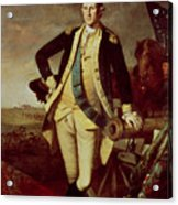 Portrait Of George Washington 1 Acrylic Print