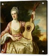 Portrait Of Maria Walpole Acrylic Print