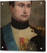 Portrait Of Napoleon Buonaparte Acrylic Print