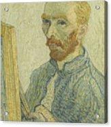 Portrait Of Vincent Van Gogh Acrylic Print
