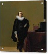 Portraits Of Jacob Van De Merckt Acrylic Print
