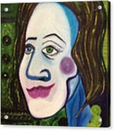 Portrat Of M.b. Acrylic Print