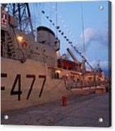 Portuguese Navy Frigates Acrylic Print by Gaspar Avila