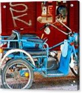 Portuguese Wheels Acrylic Print