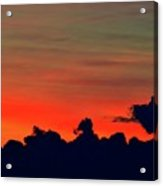 Post Sunset Sky  Acrylic Print