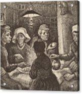 Potato Eaters, 1885 Acrylic Print