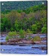 Potomac River Near Harpers Ferry Acrylic Print