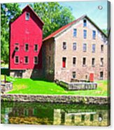 Prallsville Mill Acrylic Print