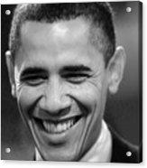 President Obama Acrylic Print