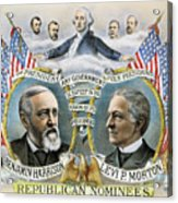 Presidential Campaign, 1888 Acrylic Print