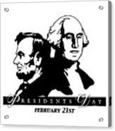 President's Day Acrylic Print