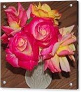 Pretty Flowers Acrylic Print