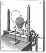 Priestleys Electrostatic Machine, 1775 Acrylic Print