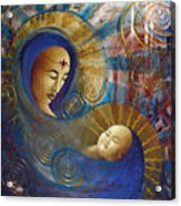Primordial Mother Gives Birth To Solar Father Acrylic Print