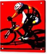 Pro Cycling Acrylic Print