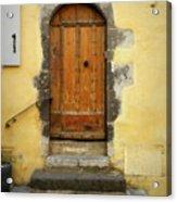 Provence Door Number 6 Acrylic Print