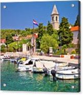 Prvic Luka Island Village Waterfront View Acrylic Print