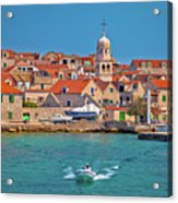 Prvic Sepurine Waterfront And Stone Architecture View Acrylic Print