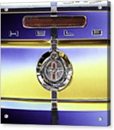 Psychedelic Shelby Ford Mustang Trunk Lid And Badge 4 Acrylic Print