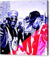 Public Enemy Collection Acrylic Print