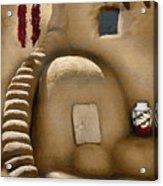 Pueblo Oven Acrylic Print