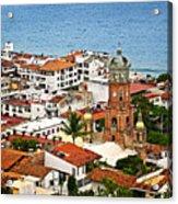 Puerto Vallarta Acrylic Print