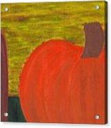 Pumpkin Acrylic Print