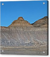 Pyramid Mountains In Emery County Utah Acrylic Print