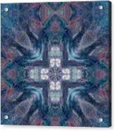 Queen Fairy Cross Acrylic Print