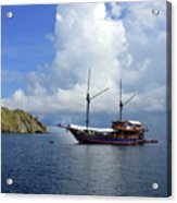 Silent Diving Bay On The Coast Of Sulawesi Acrylic Print