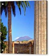Quiet Vesuvius Acrylic Print