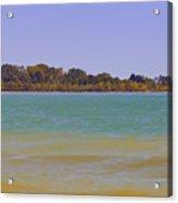 Racine Lakefront Acrylic Print